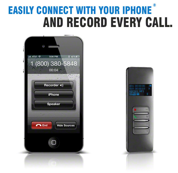 Easily Record Your Cell Phone Calls with the Bluetooth Call Recorder