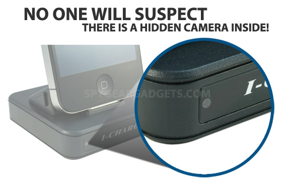 How to Make: iPhone Secret Spy Camera.
