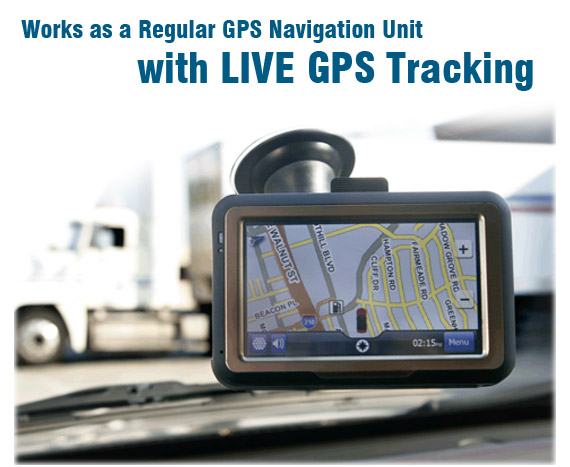GPS Navigation Tracker