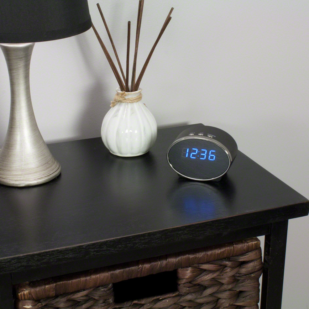 WiFi Hidden Camera Clock