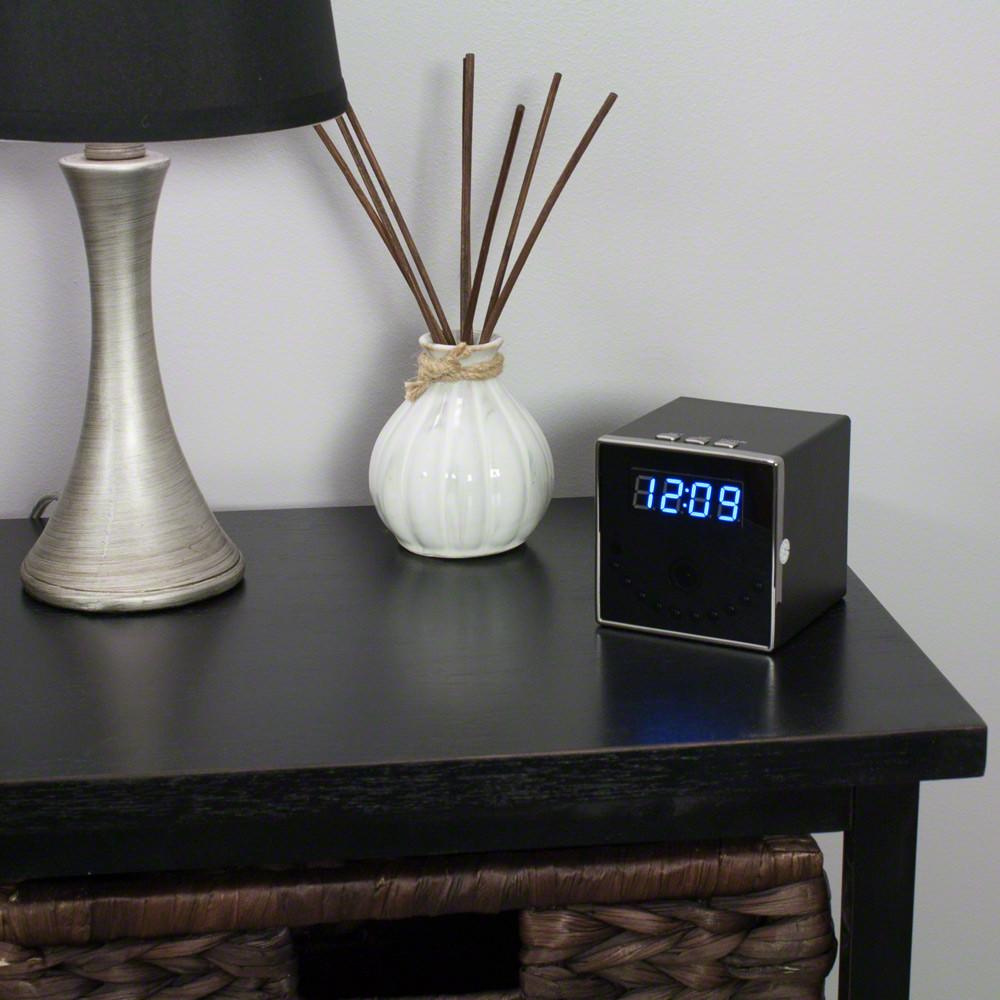 WiFi Hidden Camera Clock